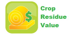 Estimate the value of crop residue, includes an estimate for N,P and K.